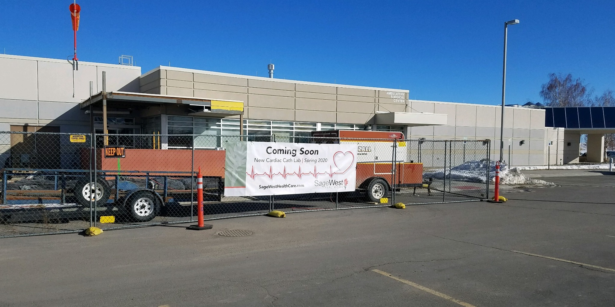 New Cardiac Catheterization Lab begins construction at SageWest Health Care