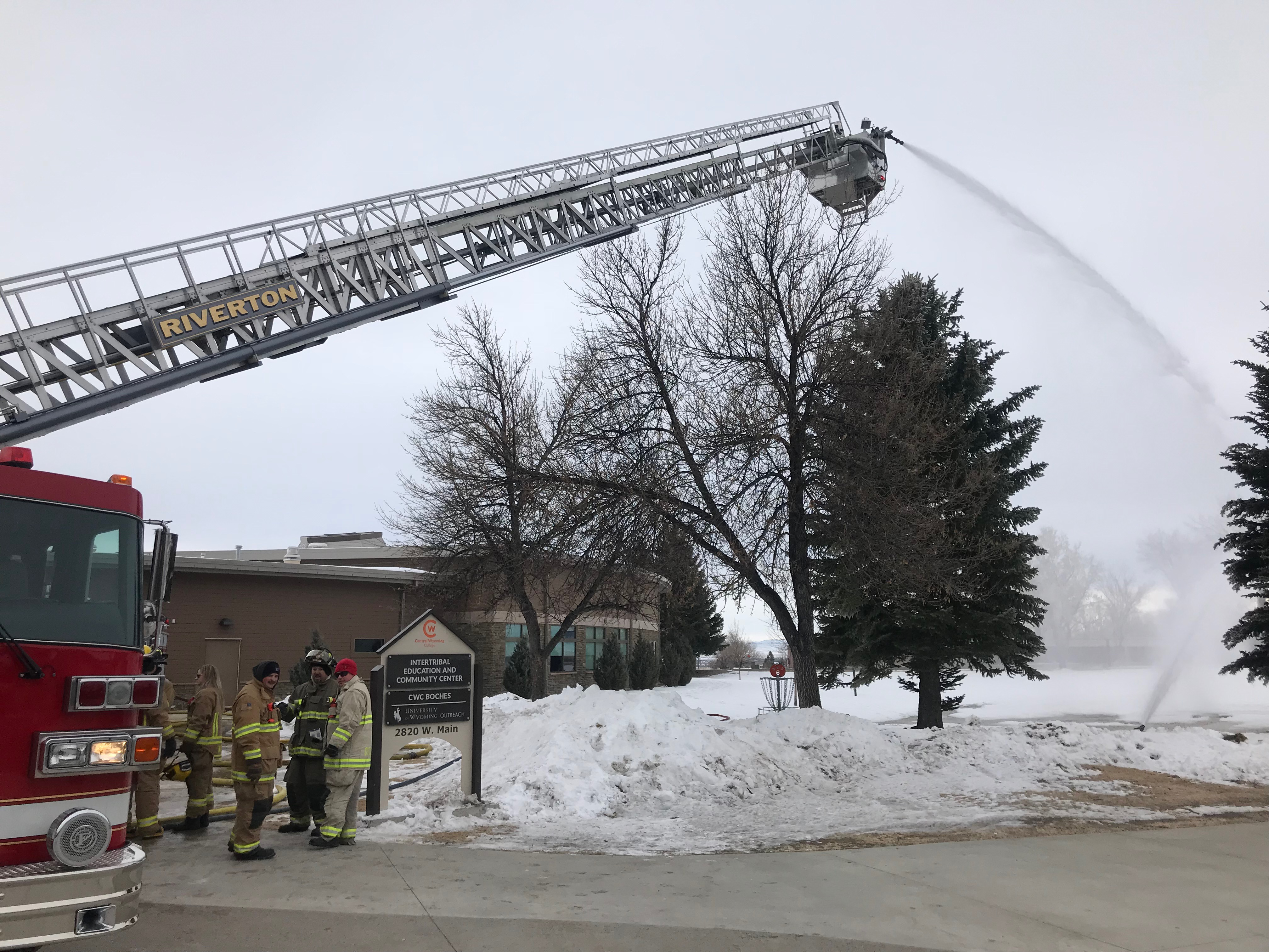Mid-Winter Fire School concluded on Sunday