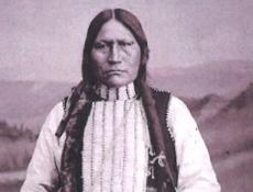"No. Arapaho to ""welcome home"" Chief Black Coal"