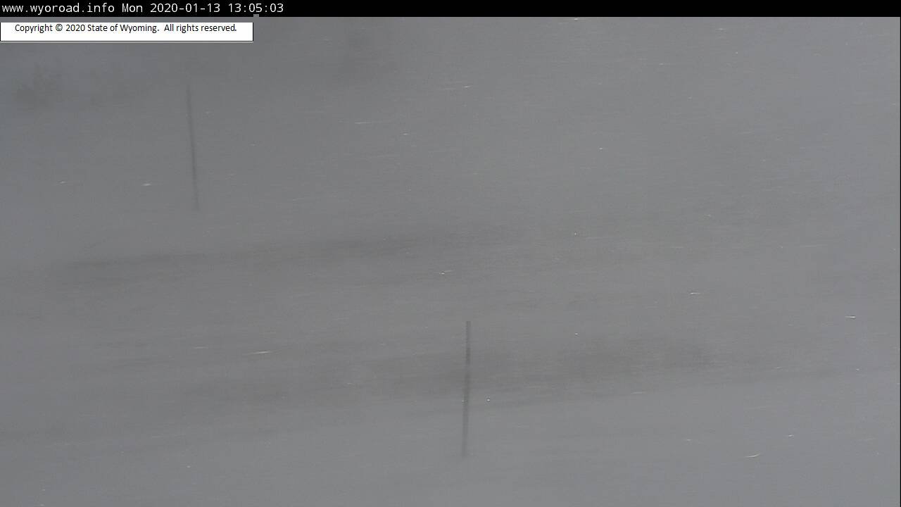 This Just In:  Wyo 28 over South Pass Closed-zero visibility