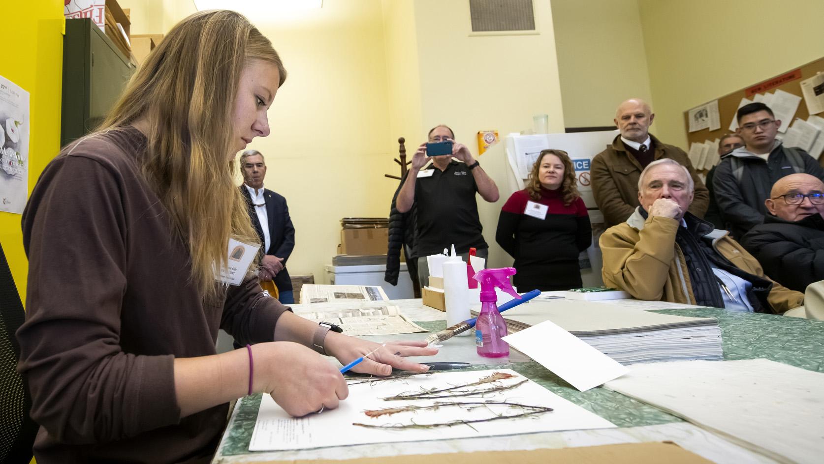 UW's Rocky Mountain Herbarium Mounts it's One- Millionth Specimen