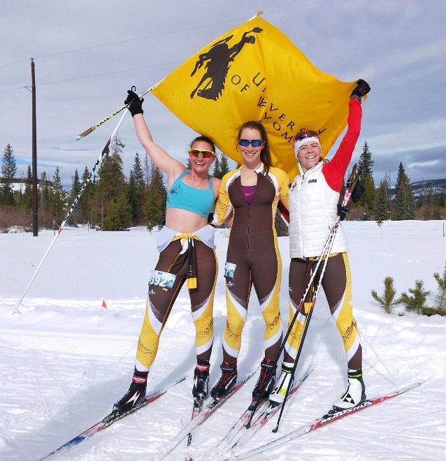 Lander Skiers at UW helped Nordic team to wins