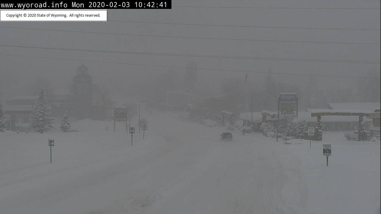 Preliminary snowfall totals: 11.4″ at Lander, 7.8″ Riverton