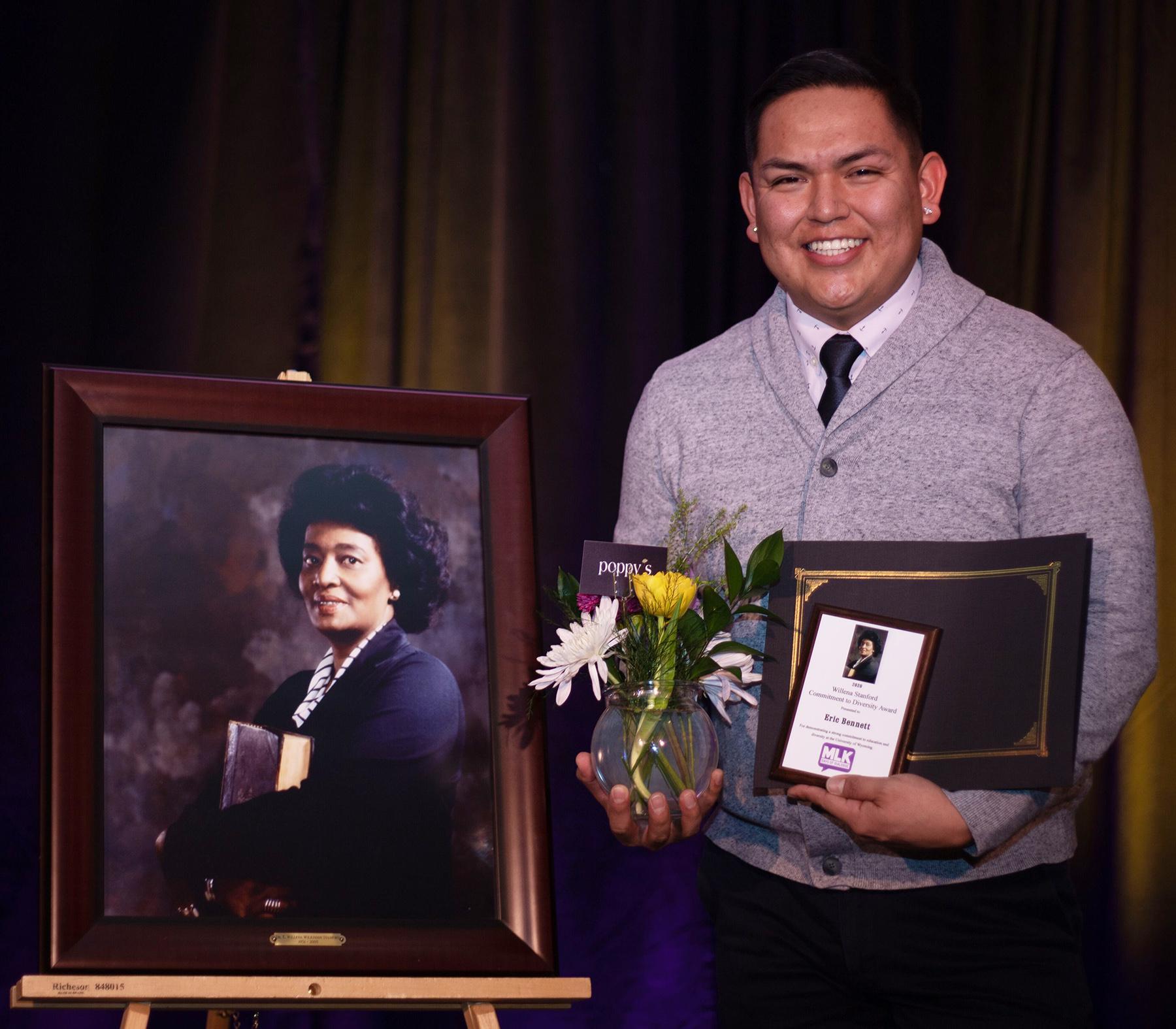 Fort Washakie UW Student is Diversity Award Recipient