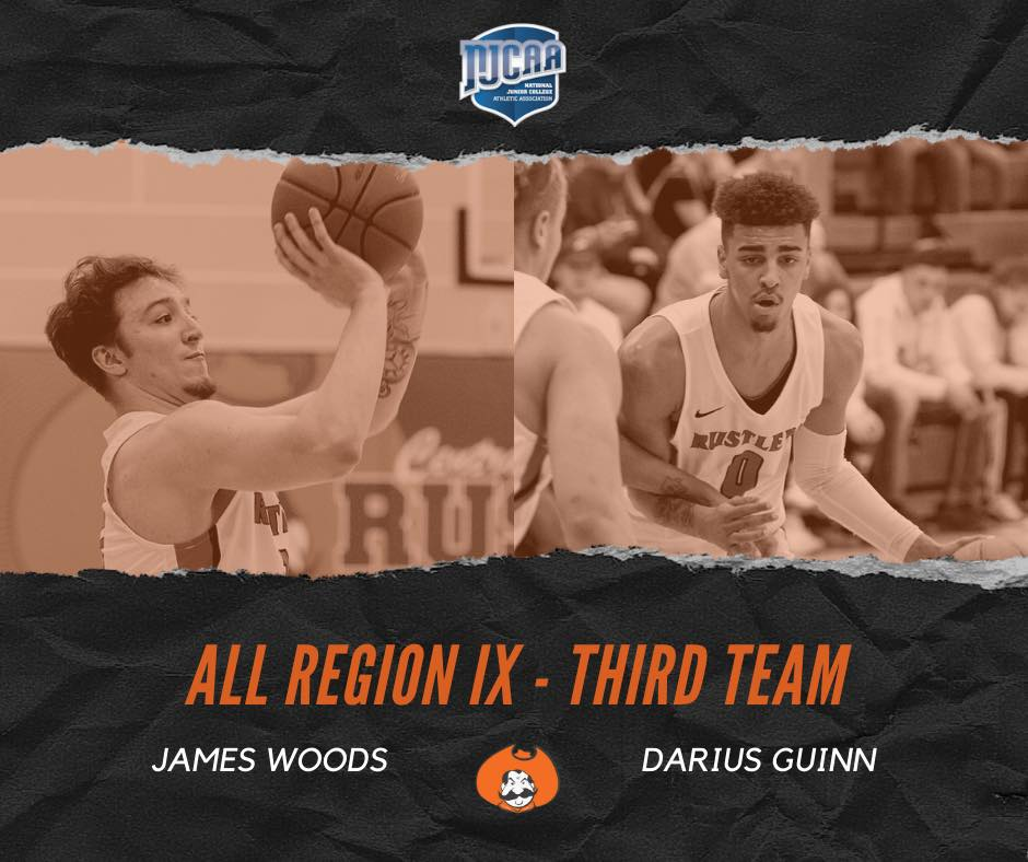 Two Rustlers named to       All-Region IX team