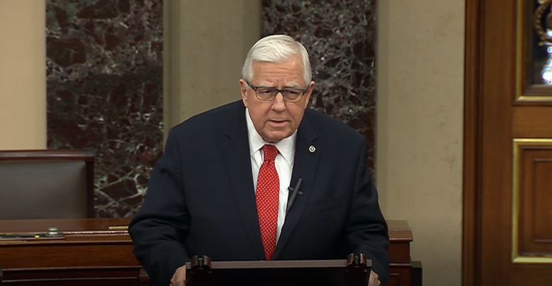Enzi urges House to quickly pass Covid-19 relief package