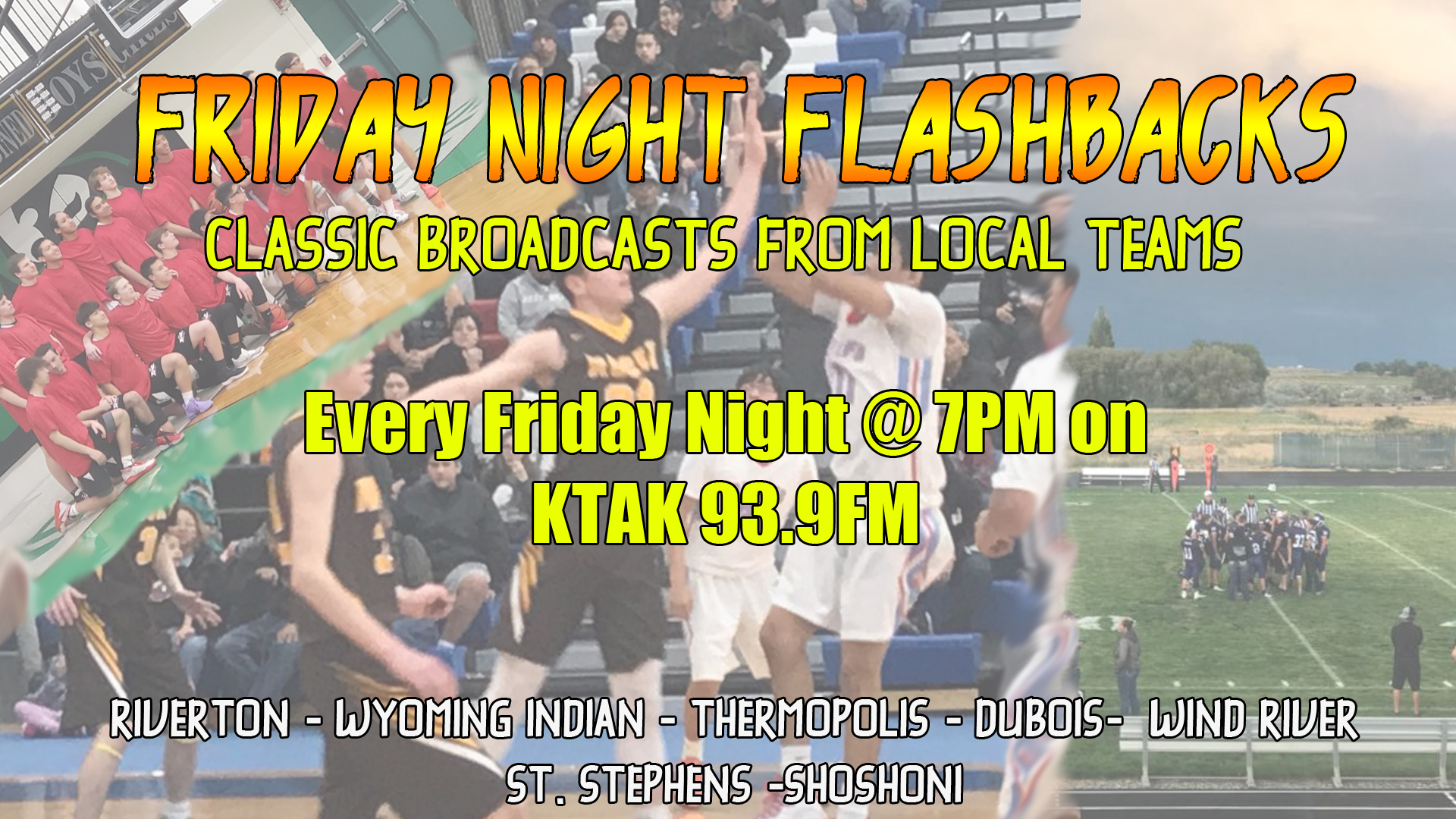 Sports Fans…We Have Something For You Friday Nights!