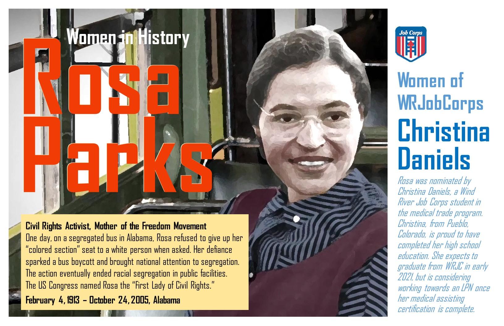 Women's History Month: Rosa Parks