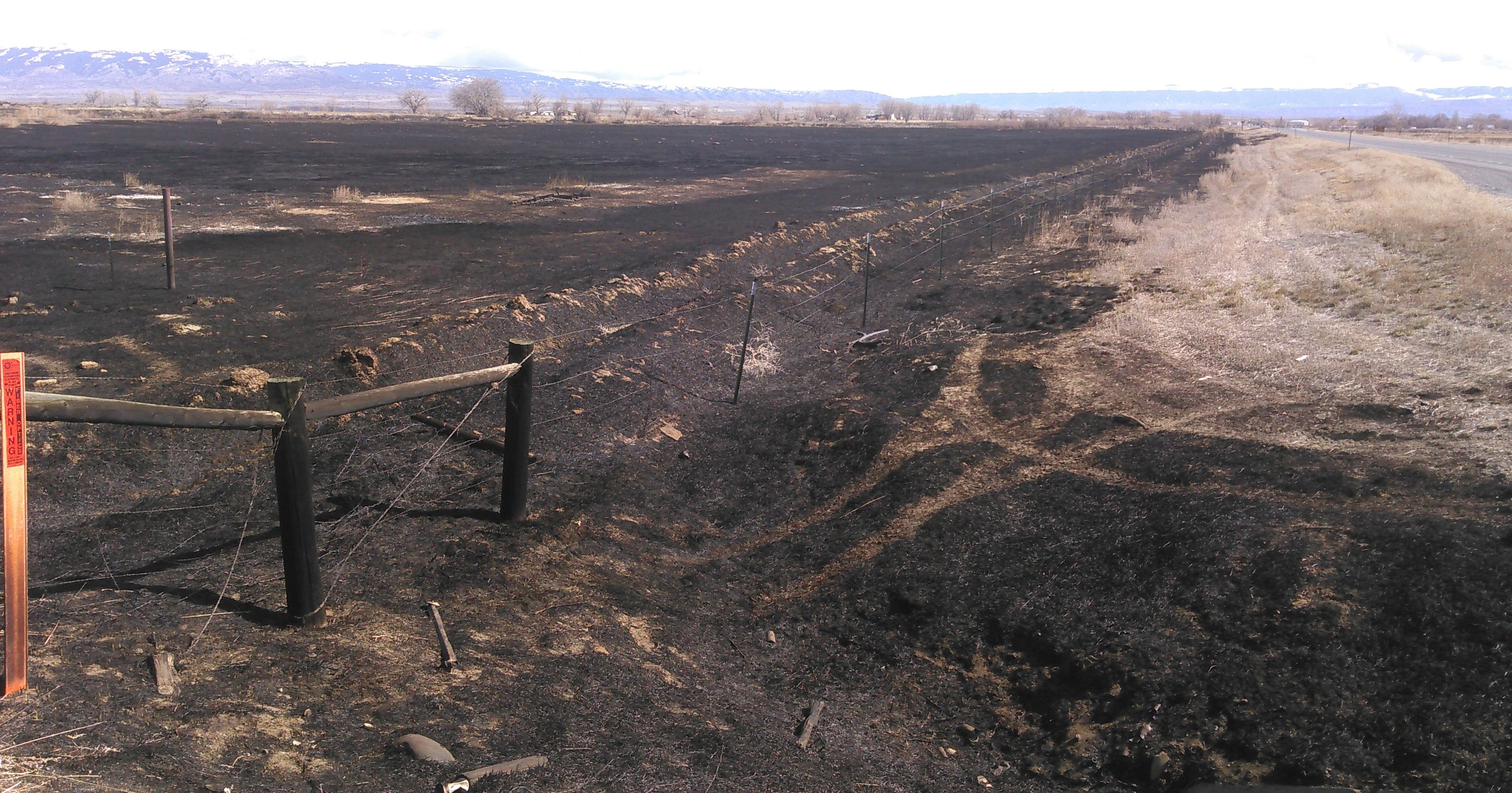 Spring burning? Plan ahead, Avoid State Rights-of-Way