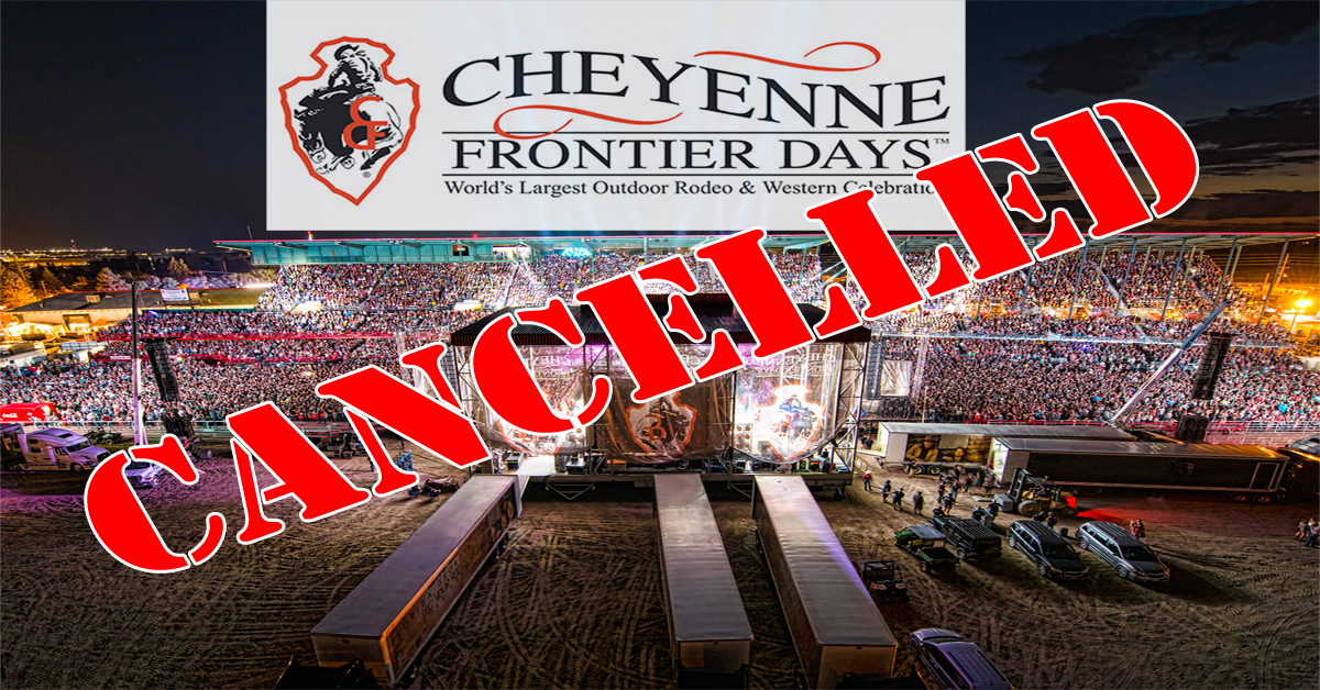 CFD, Other Rodeos Cancelled for 2020; Impact on  Wyoming to be significant