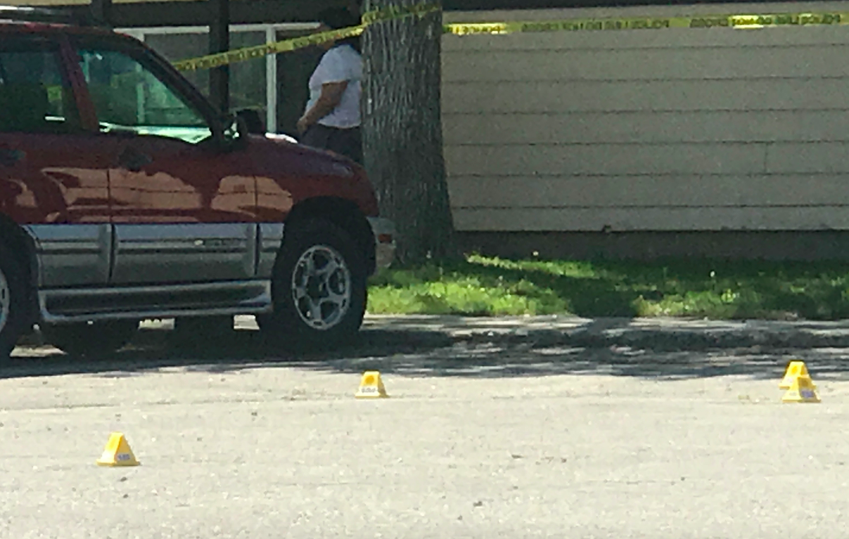 Shooting in Lander today; One victim hospitalized