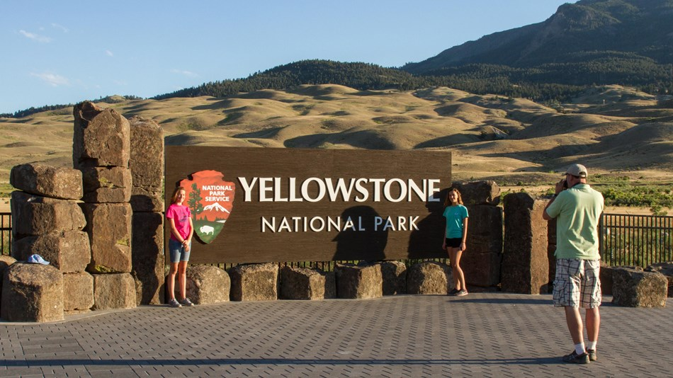 """Fire danger in Yellowstone is now """"Moderate"""""""