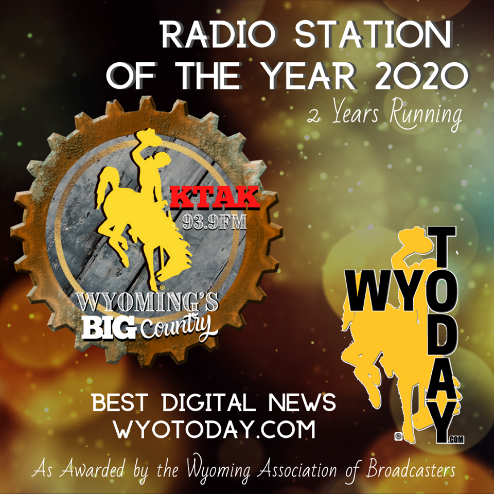 WRRN & WyoToday.com Win Station of The Year & Best Digital News!
