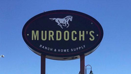 Signs now up at Murdoch's