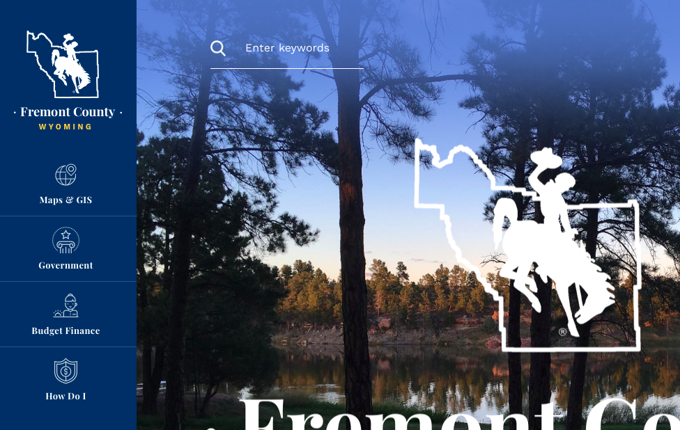 Fremont County's Website:  New and Improved