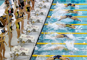 Wyoming Swimming Named Scholar All-America Team