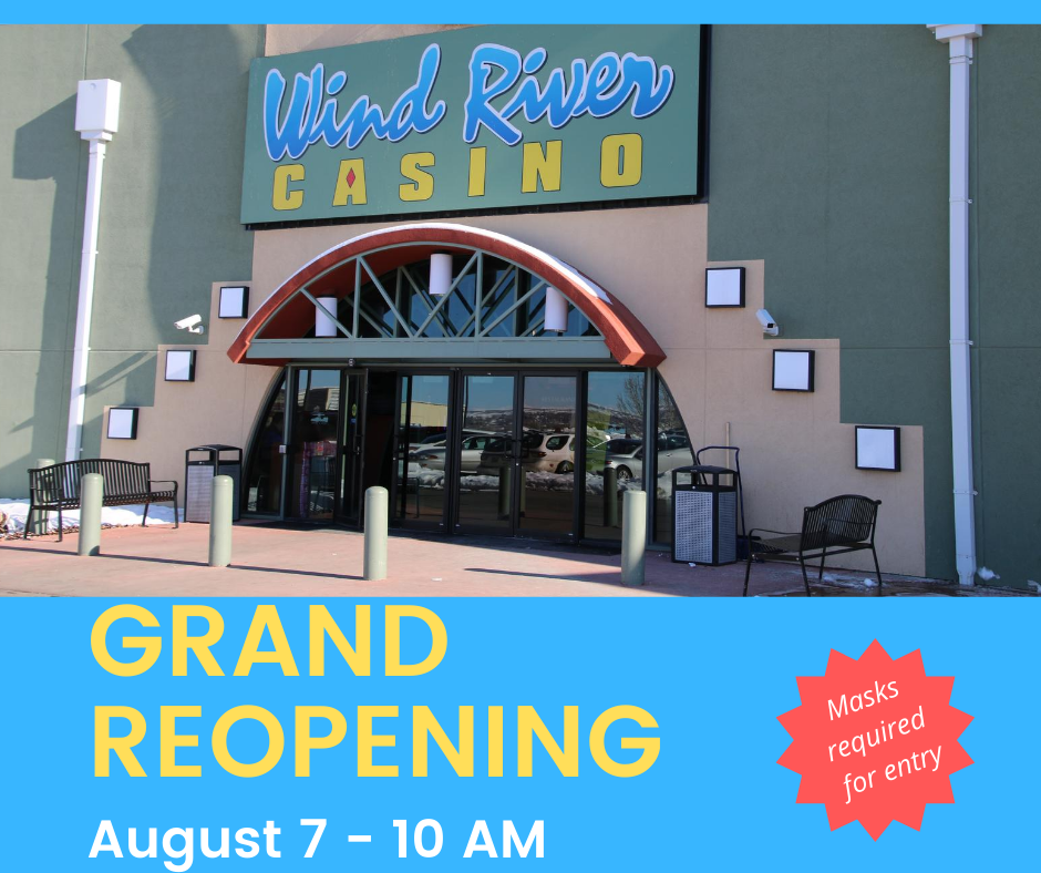 Wind River Hotel & Casino Grand Reopening — Take 2