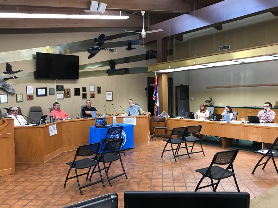 Lander Council's zoning ordinance at second reading