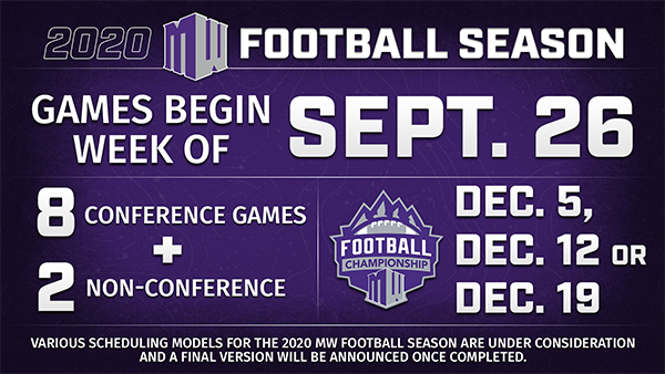 UW Fall Sports Schedule adjusted; Games begin 8/26