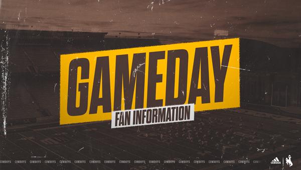 UW Gameday Fan Info Announced