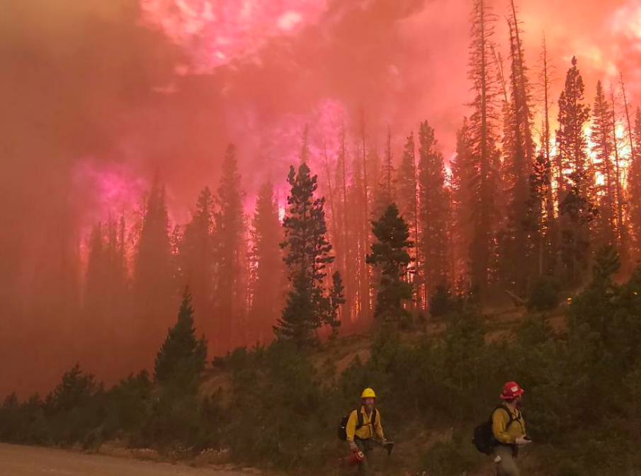 Mullen Fire over 80K Acres Tuesday, Zero containment; Evacuations ordered