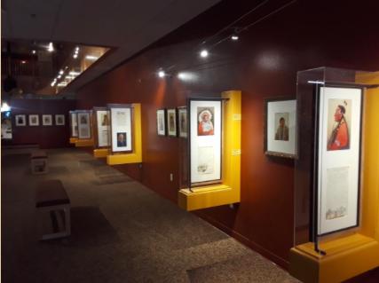 Scheuerle Art on Exhibit      at Lander's Pioneer Museum