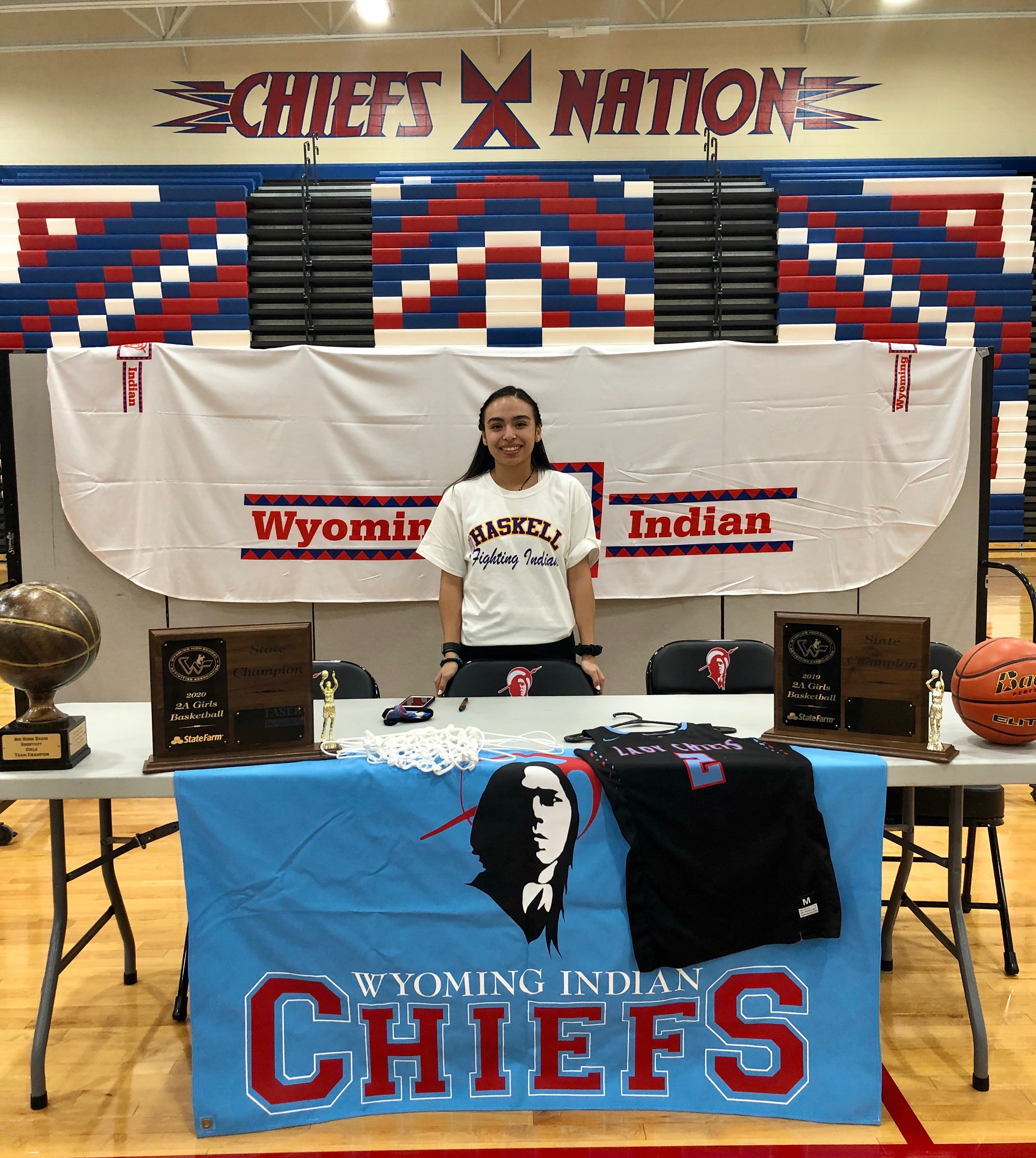 Jaden Ferris Signs with Haskell University