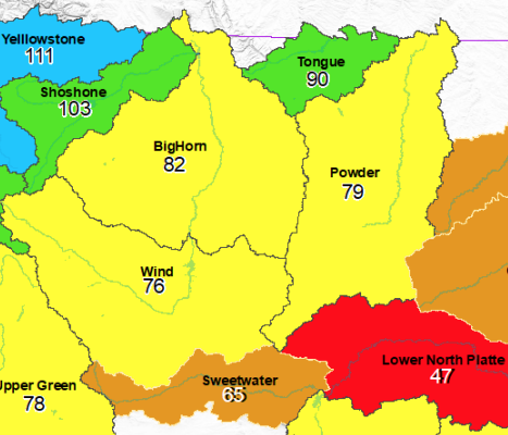 Local Snowpack holding firm, but down from 2019