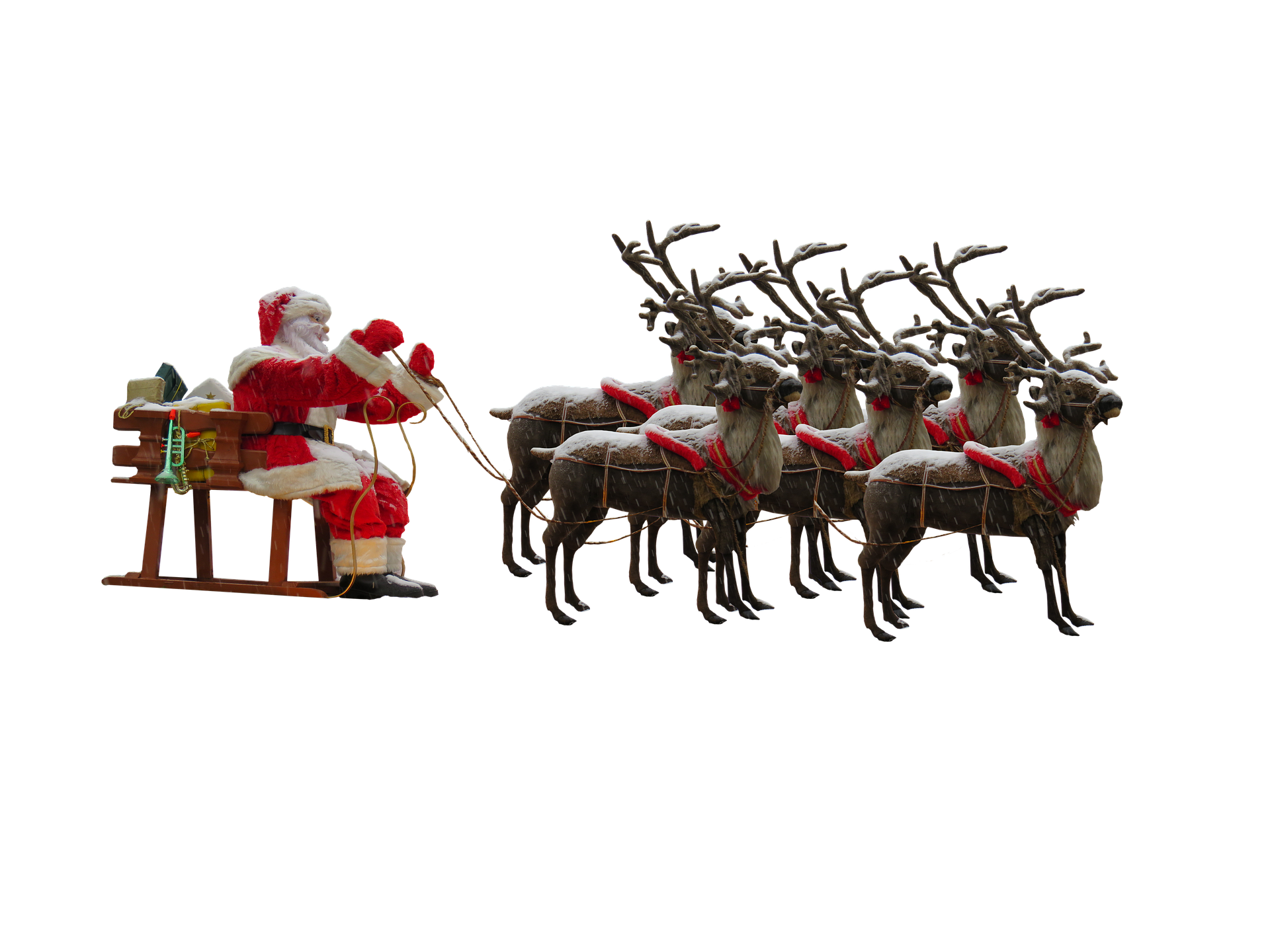 USDA Clears Santa's Reindeer for Entry into       the United States