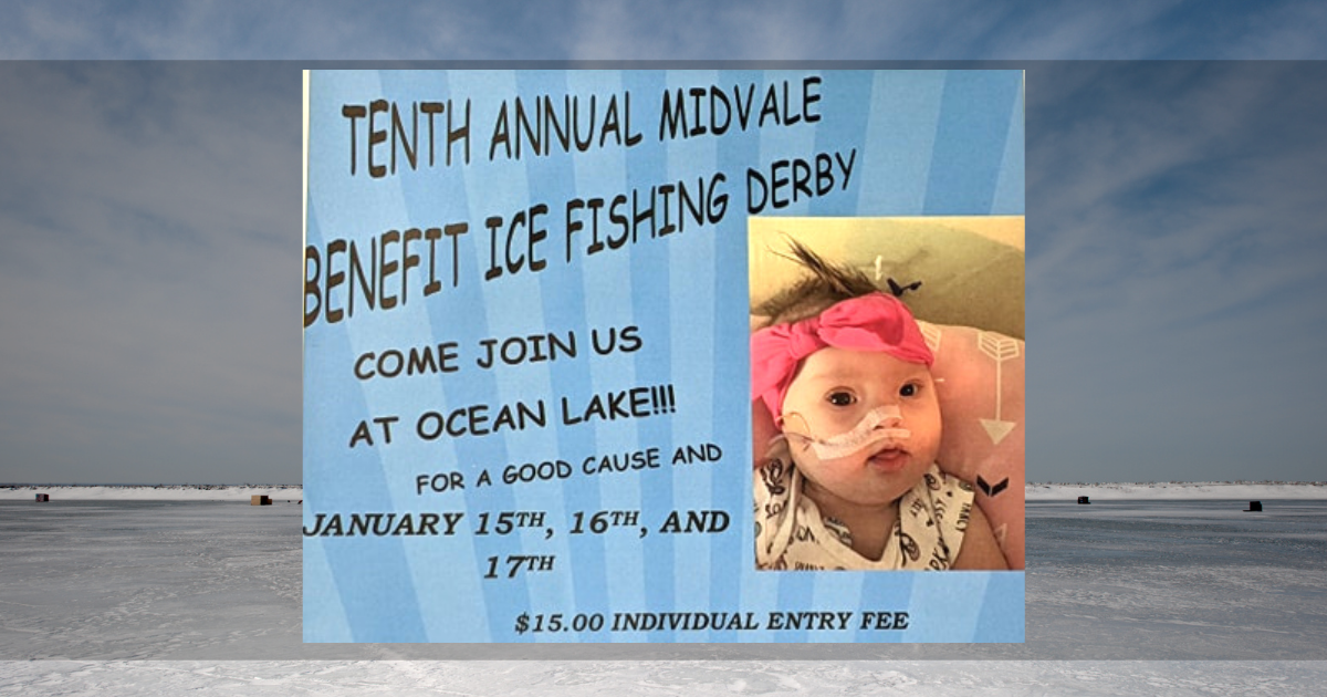 10th Annual Midvale Ice Fishing Derby to Benefit Local 6 Month Old