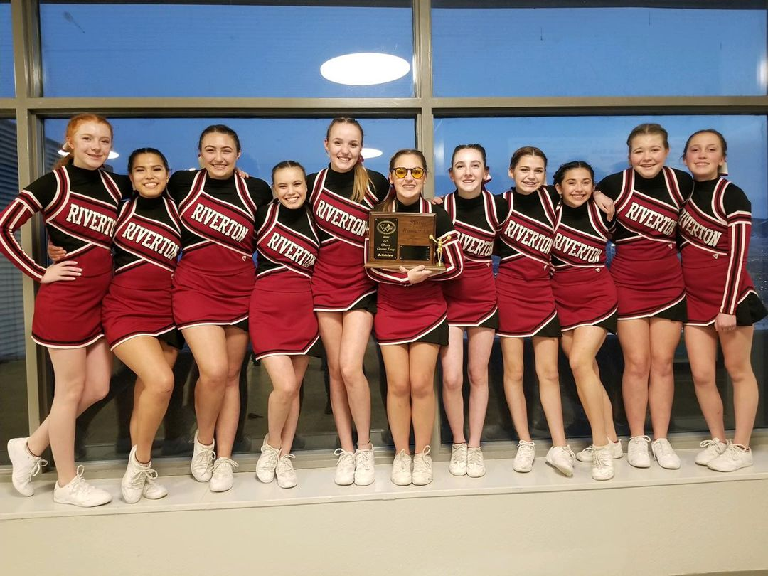 Riverton Spirit Squad placed Second at State Thursday