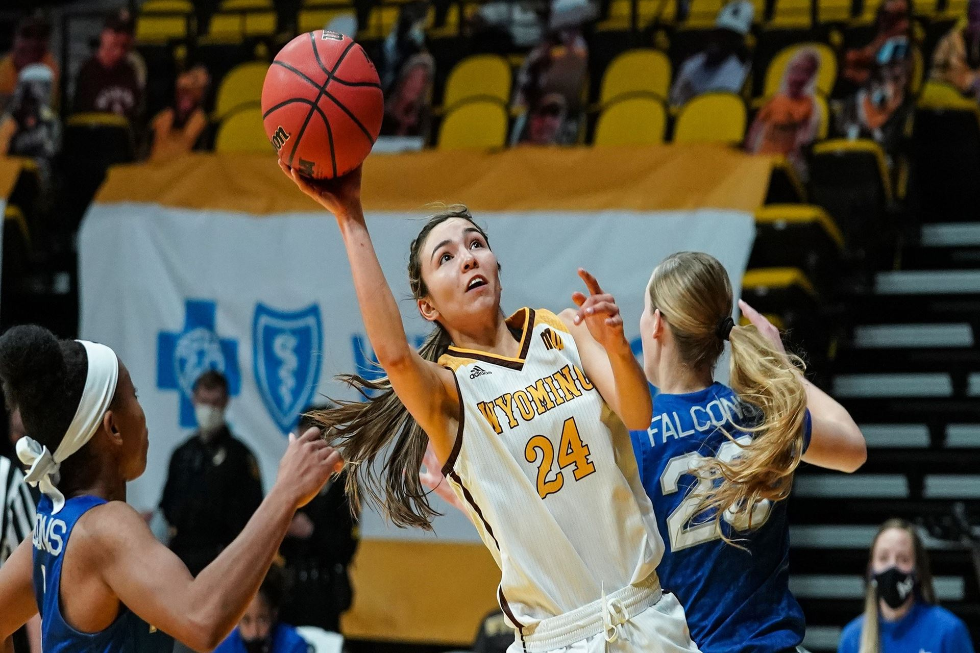 Cowgirls Surge earns win over AFA at Laramie