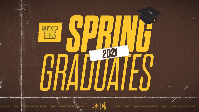 Fifty-Four UW Athletes Graduating in 33 Majors