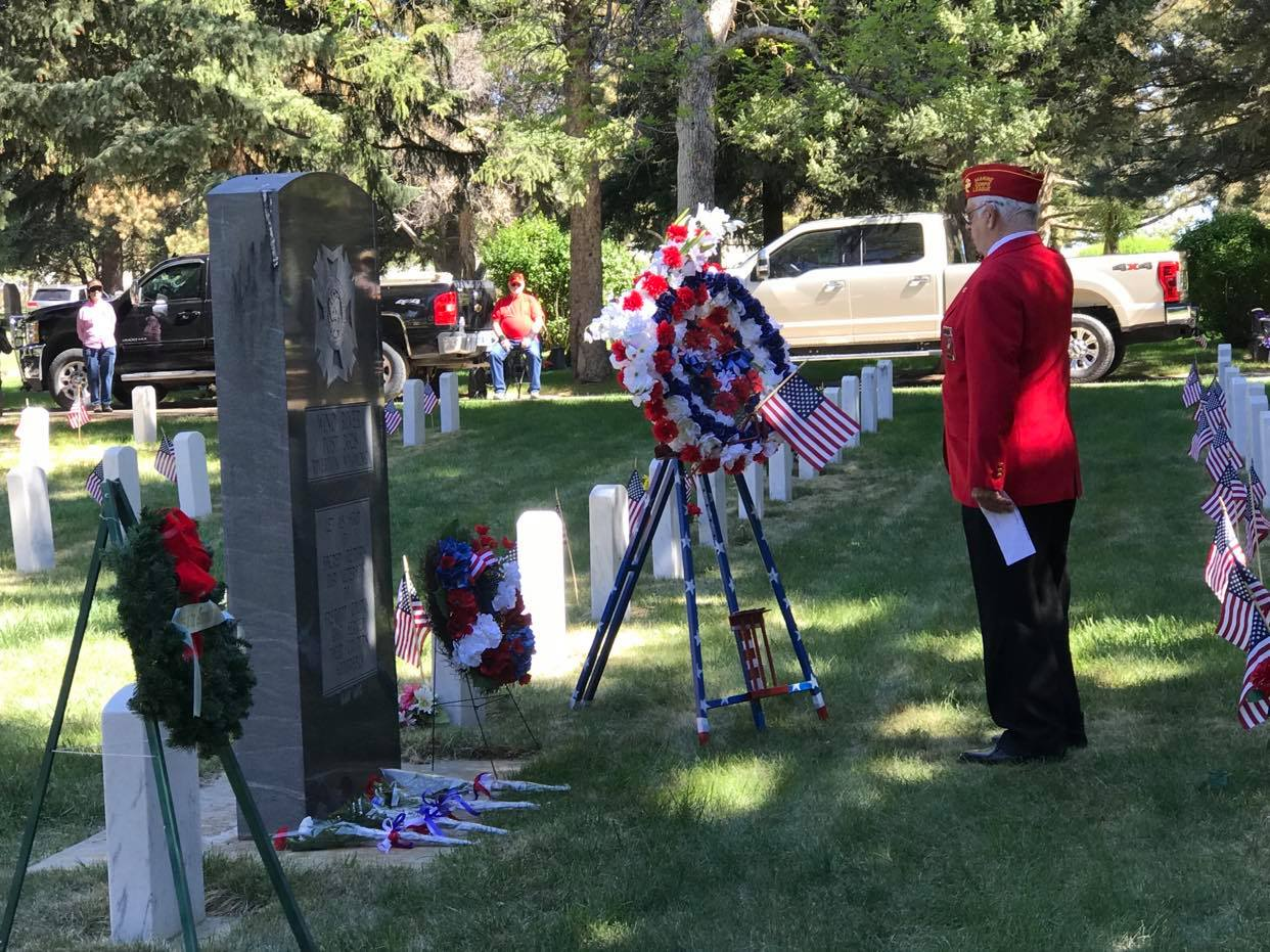 Memorial Day Observed Across the County today