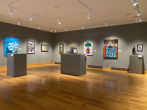 UW Art Museum Hosts Walk-Through & Virtual Gallery with Student Award Winners