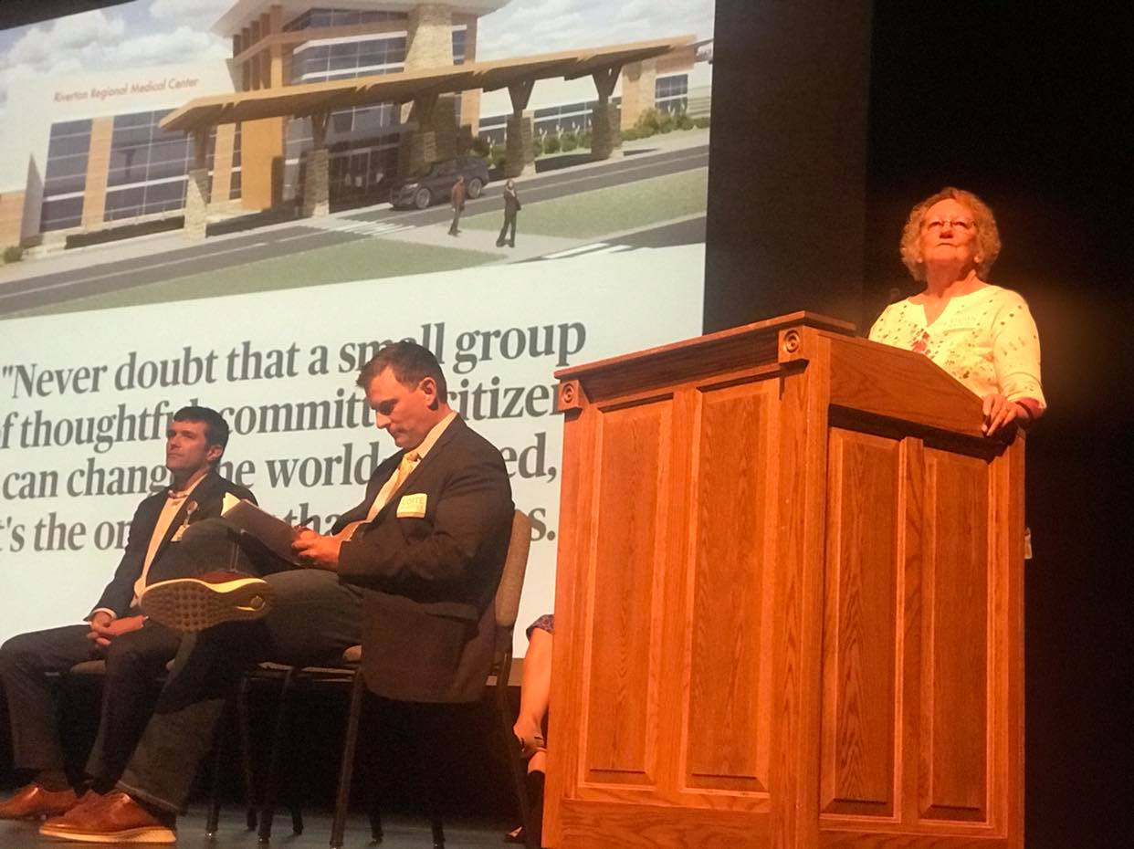 Big turnout heard Hospital Update from Billings Clinic