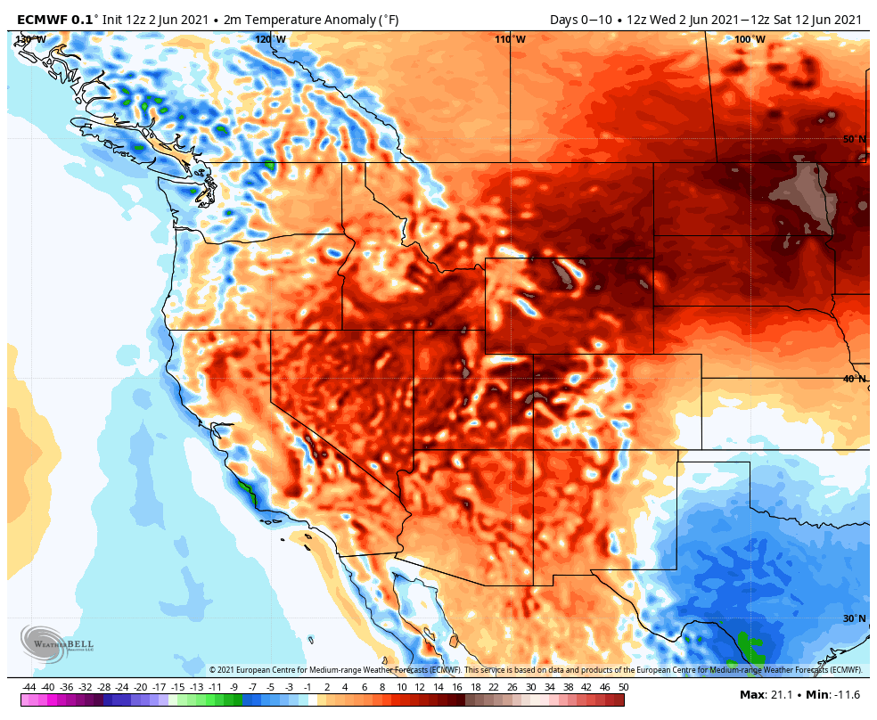 Hot today, Isolated Storms Friday in the Bighorn Basin